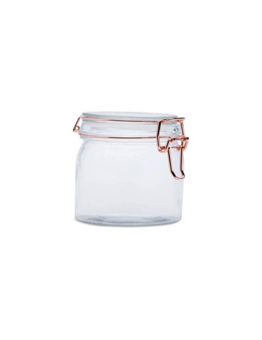 Bocal à conserve en verre Rose Gold 7 x 6 cm - 100ml