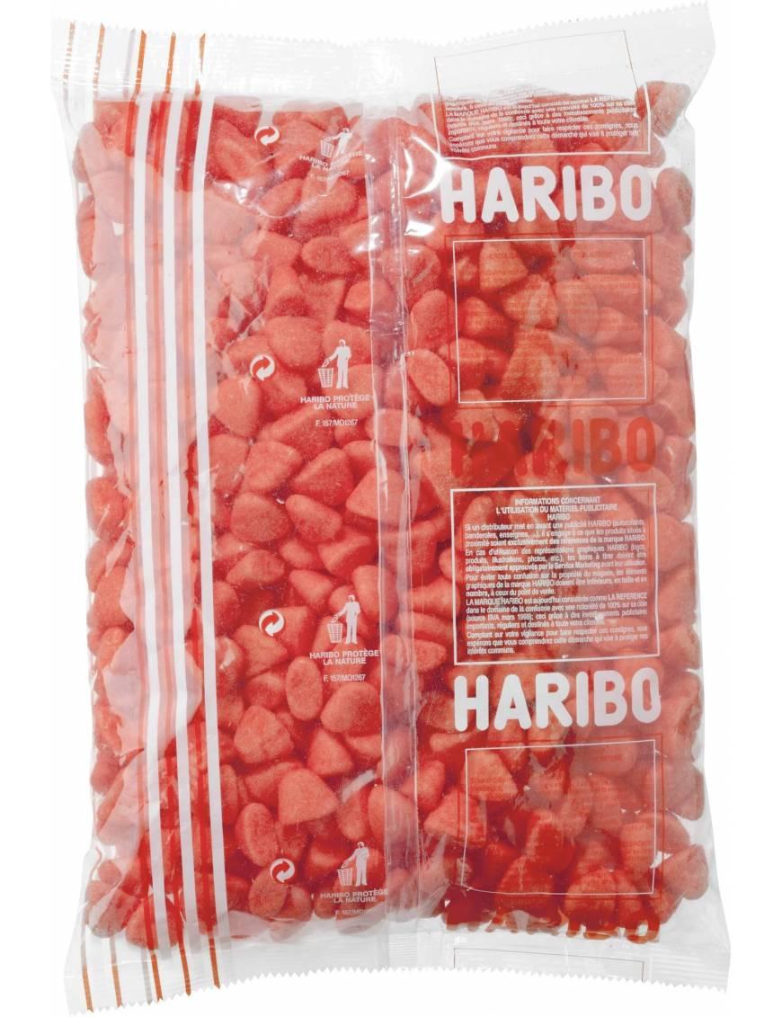 Haribo fraise Tagada sachet vrac 1kg