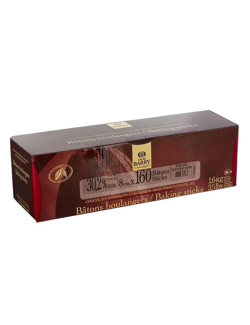 Bâtons boulangers 160 pièces de 8cm - Cacao Barry