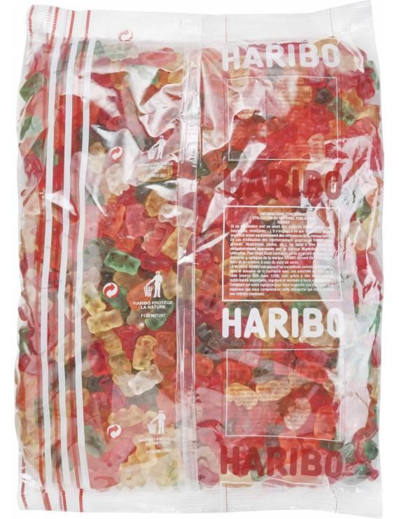 Haribo Tinours Sachet vrac de 2kg