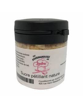 Sucre pétillant nature 50gr - Les Gourmandises de Loulou