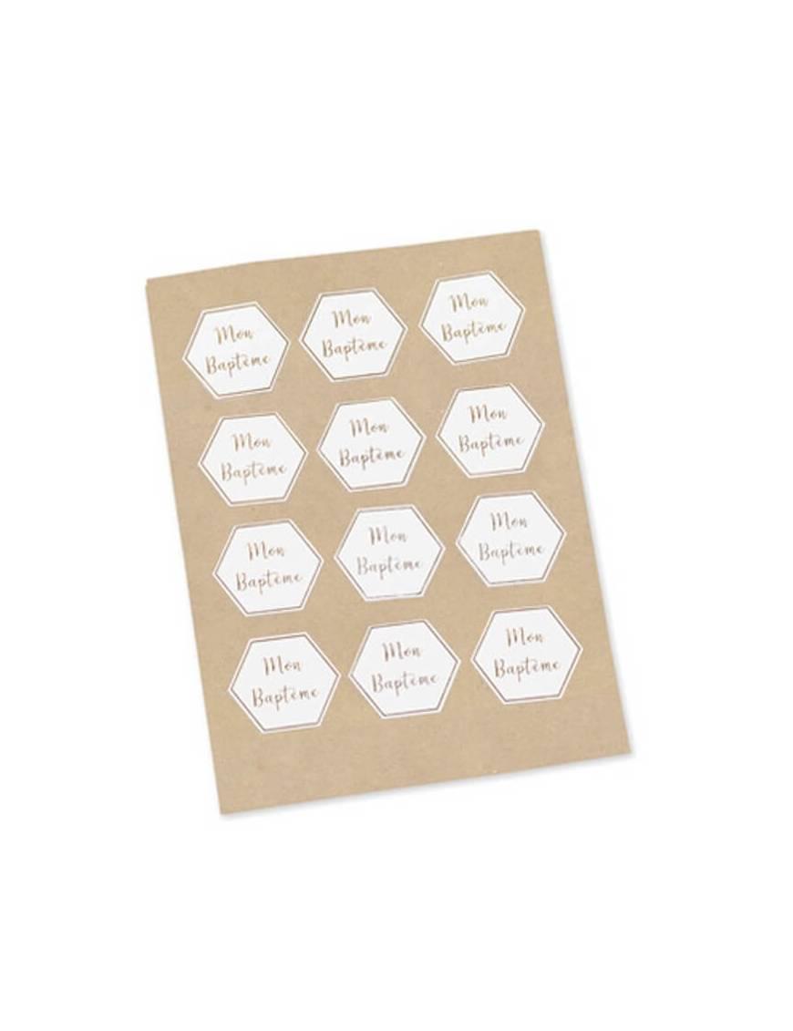 Stickers Mon Baptême x 24