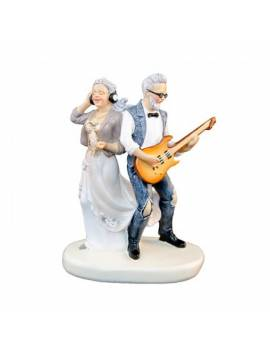 Couple Noces d'Or Guitare