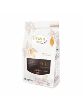Chocolat Succession Noir 64% 1kg - CÉMOI