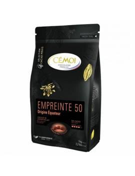 Chocolat Équateur Lait 50% 1kg - CÉMOI