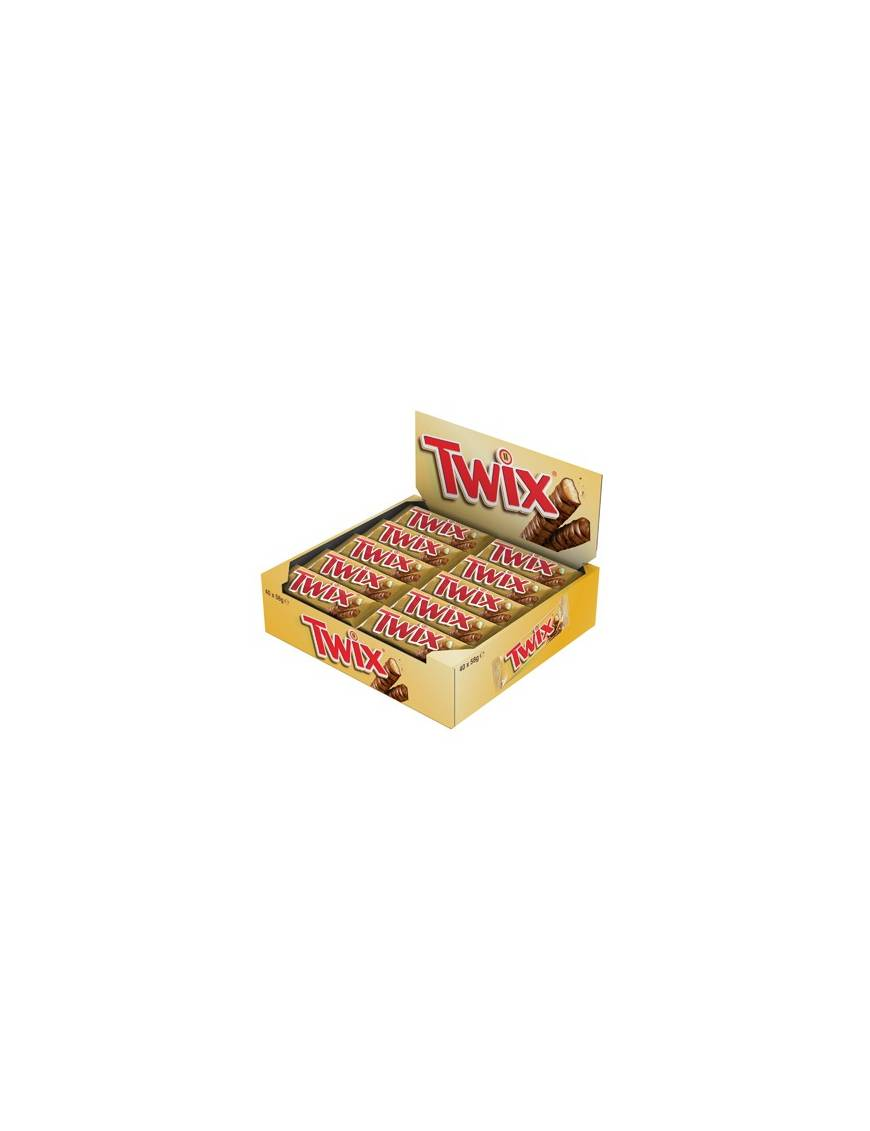 Twix boite présentoir de 40 pieces