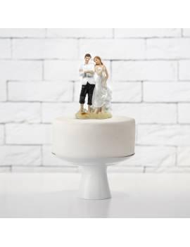 Couple Mariés les Pieds sur le Sable - PartyDéco