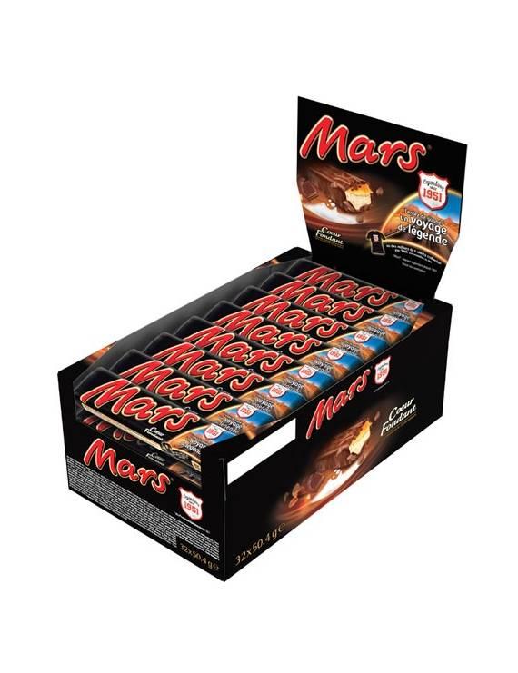 Mars boîte présentoir de 32 pieces
