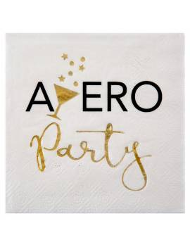 Serviette Apero Party x20 - Santex