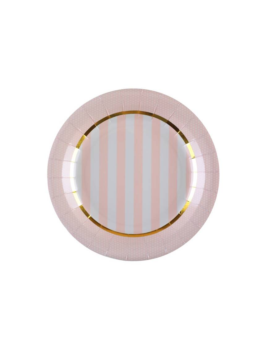 Assiette Baby Shower x10 - Santex