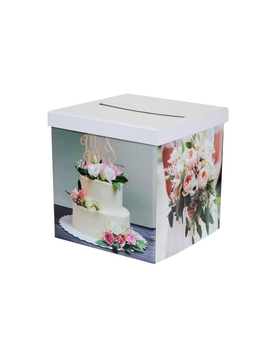 Tirelire Wedding gâteau - Santex