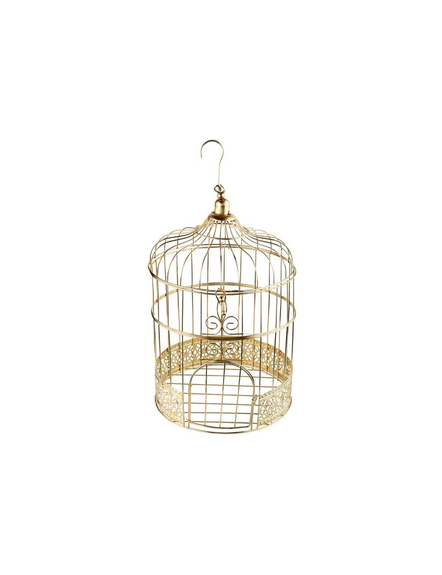 Tirelire cage or - Santex