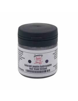 Colorant hydrosoluble poudre noir brillant 10g