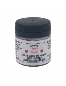 Colorant hydrosoluble poudre Rouge Framboise 10g