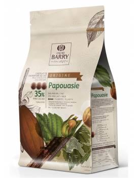Chocolat de couverture au lait Papouasie 35% Cacao Barry