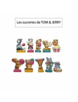 Série de fèves Sucreries Tom & Jerry x10