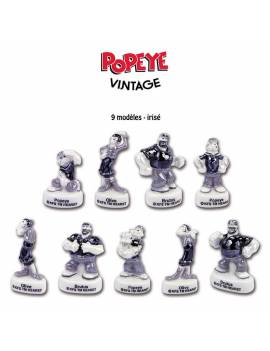 Série de fèves Popey Vintage