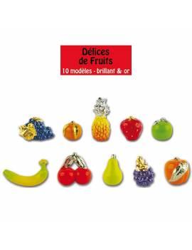 Série de fèves Délice de fruits ! x10
