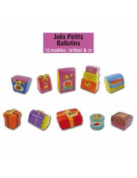 Série de fèves Jolis petits ballotins ! x10