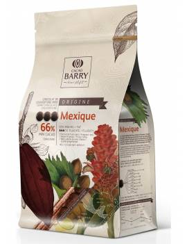 Chocolat de couverture noir Mexique 66% Cacao Barry