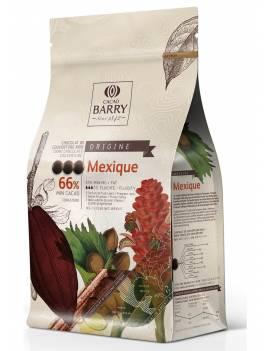 Chocolat de couverture noir Mexique 66% Cacao Barry