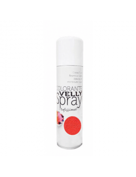 Velly spray Colorant effet velours Rouge 250ml - Mallard Ferrière