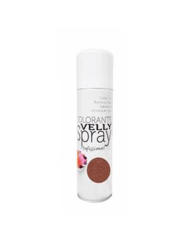 Velly spray Colorant effet velours Brun 250ml - Mallard Ferrière