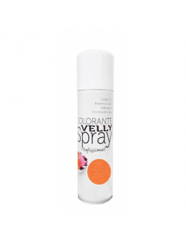 Velly spray Colorant effet velours Orange 250ml - Mallard Ferrière