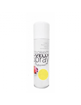 Velly spray Colorant effet velours Jaune 250ml - Mallard Ferrière