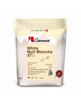 Chocolat de couverture White nuit blanche 37% - CARMA