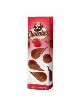 Chocola's Crispy 36 tuiles fraise