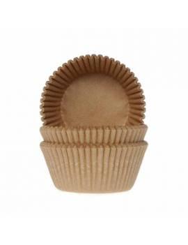 Caissettes Cupcakes Kraft -...