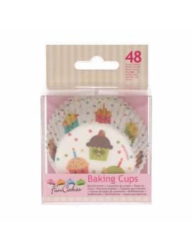 Caissettes Cupcakes Fête -...