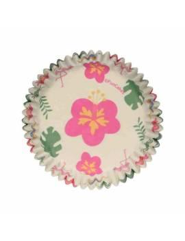 Caissettes Cupcakes Tropical - x48 - Funcakes
