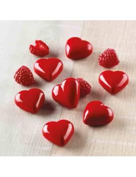 Moule Coeur Love 3D x6 -...