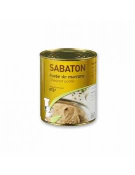 Purée de marrons - Sabton