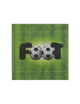 Serviette Foot x20 - Santex