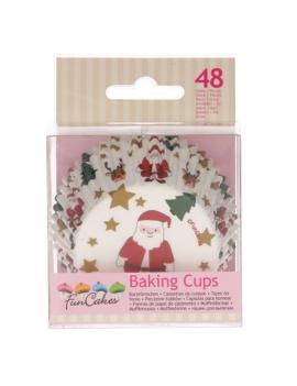 Décor sucre de Noël x 8 - FunCakes