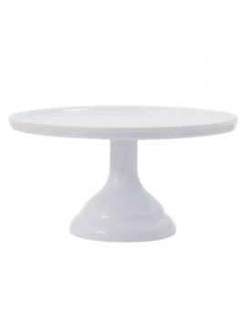 Support gâteaux ⌀23,5cm blanc