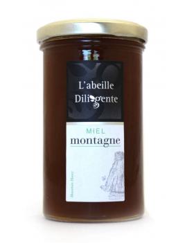 Miel l'abeille Diligente - MONTAGNE 350G
