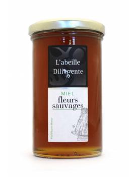 Miel l'abeille Diligente - FLEURS SAUVAGES 350G