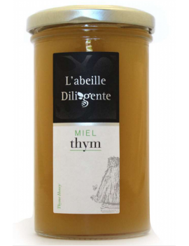 Miel l'abeille Diligente - THYM 350G