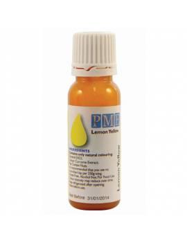 Colorant liquide jaune citron 100% naturel - PME