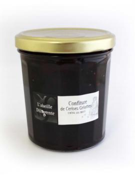 Confiture l'abeille Diligente - CERISES GRIOTTES 375G