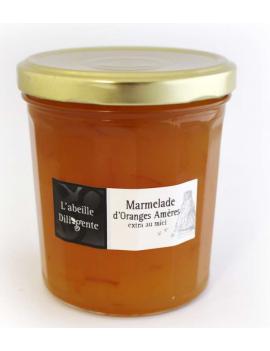 Confiture l'abeille Diligente - ORANGES AMÈRES 375G
