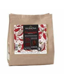 Guanaja 70 % 1kg - Chocolat noir de couverture Valrhona