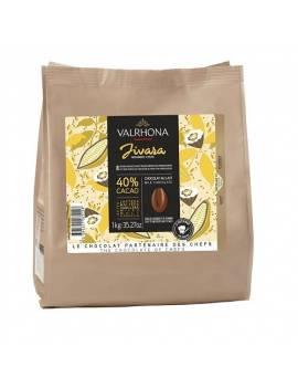 Jivara 40 % 1kg - Chocolat lait de couverture Valrhona