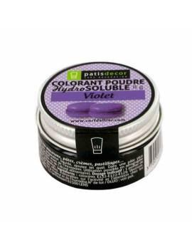 Colorant poudre hydrosoluble noir réglisse - 8g