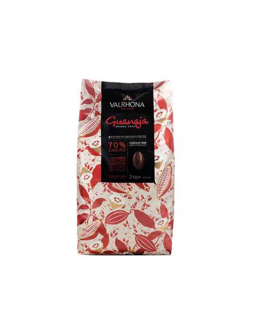 Guanaja 70 % 3 kg - Chocolat noir de couverture Valrhona