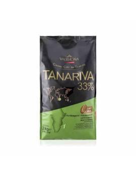 Tanariva 33% 3kg - Chocolat lait de couverture Valrhona